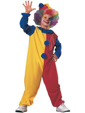 Clown Fuller Cut Costume for Kids