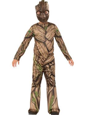 Marvel Collection: Kid's Groot Costume