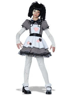 Kids Haunted Doll Costume