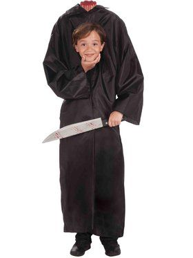 Kids Headless Boy Costume