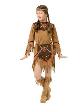 Kids Indian Princess Costume