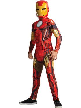 Kid's Iron Man Jumpsuit Costume