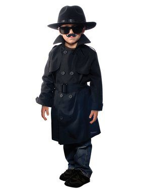 Kids Jr. Secret Agent Costume