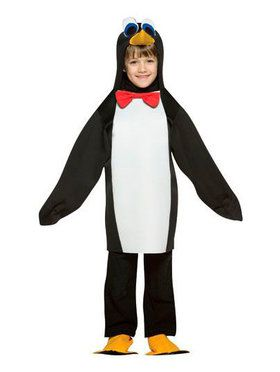 Kids Lightweight Penguin Costume