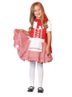 Kids Lil Miss Red Riding Hood Costume for Girls