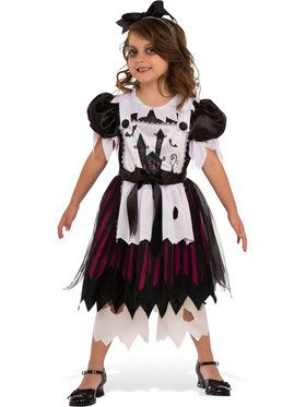Little Broken Doll Costume for Kids