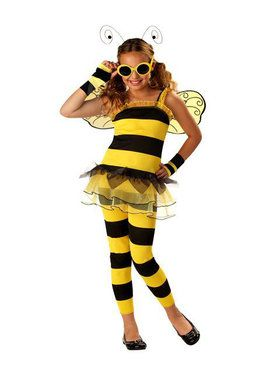 Kids Little Honey Bee Costume for Girls