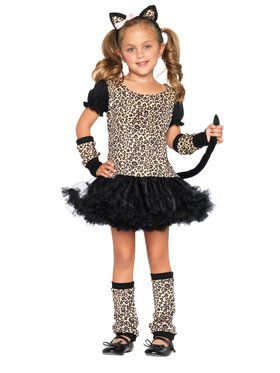 Kids Little Leopard Costume for Girls