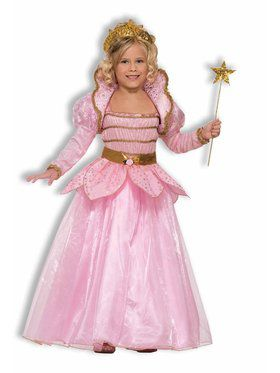 Kids Little Pink Princess Costume for Girls