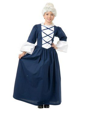 Kids Martha Washington Costume