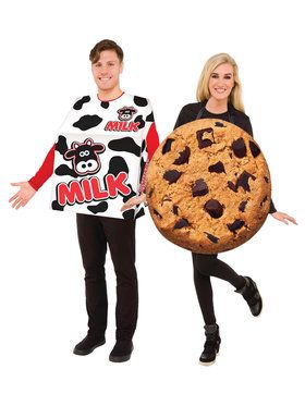 Kids Milk and Cookies Costume Set
