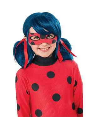 Miraculous Ladybug Wig for Kids