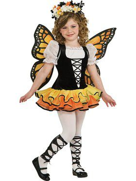 Kids Monarch Butterfly Costume for Girls