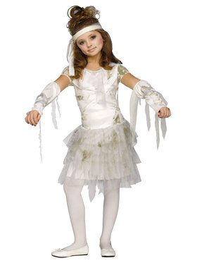 Mummy Girl Costume For Children