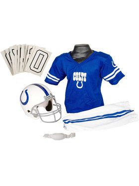 Kids NFL Colts Helmet and Uniform Set