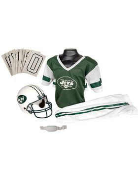 Kids NFL Jets Helmet and Uniform Set