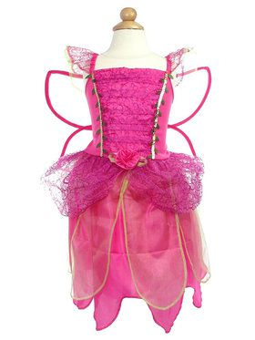 Kids Pink Fairy Dress Costume