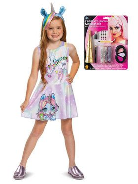 Kids Poopsie Unicorn Dazzle Darling Costume Kit