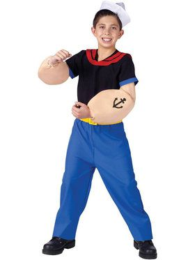 Kids Popeye Costume