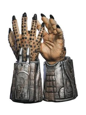 Kids Gray Steel Predator Gloves