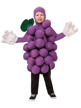 Kids Purple Grapes Costume