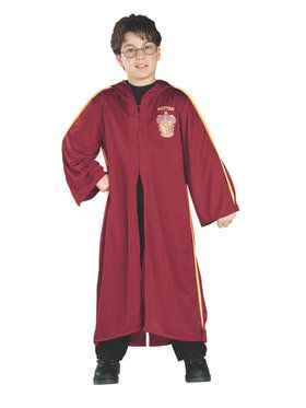 Harry Potter - Harry Potter Quidditch Robe Child Costume