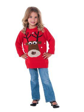 Kids' Reindeer Sweater