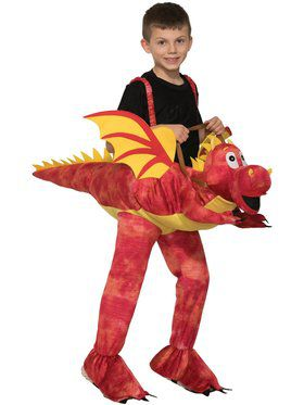 Ride-A-Dragon Kid's Costume