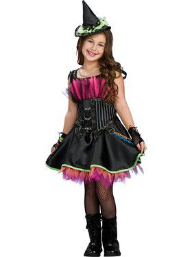 Kids Rockin Out Witch Costume for Girls