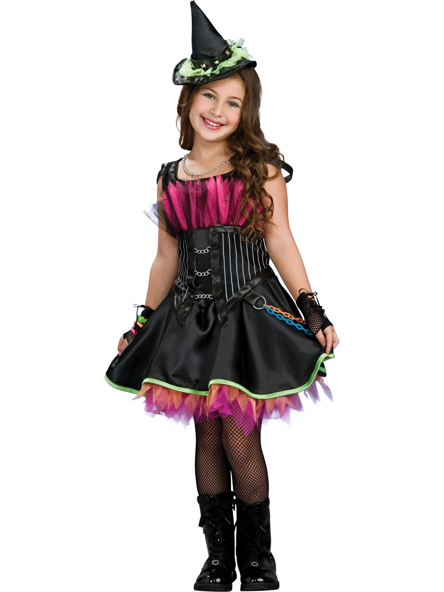 Rock Star Witch Costume for Girls R883961-L