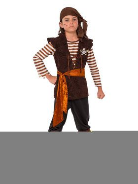 Kids Rouge Pirate Mate Costume