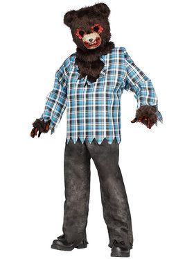 Kids Scary Teddy Bear Costume