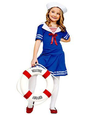 Kids Sea Sweetie Costume for Girls