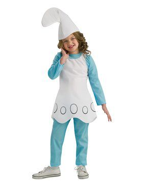 Kids Smurfette Costume for Girls