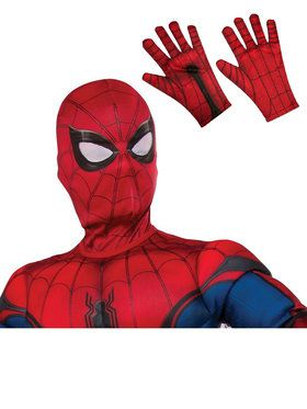 Kids Spiderman Mask and Gloves Costume Accessory Kit
