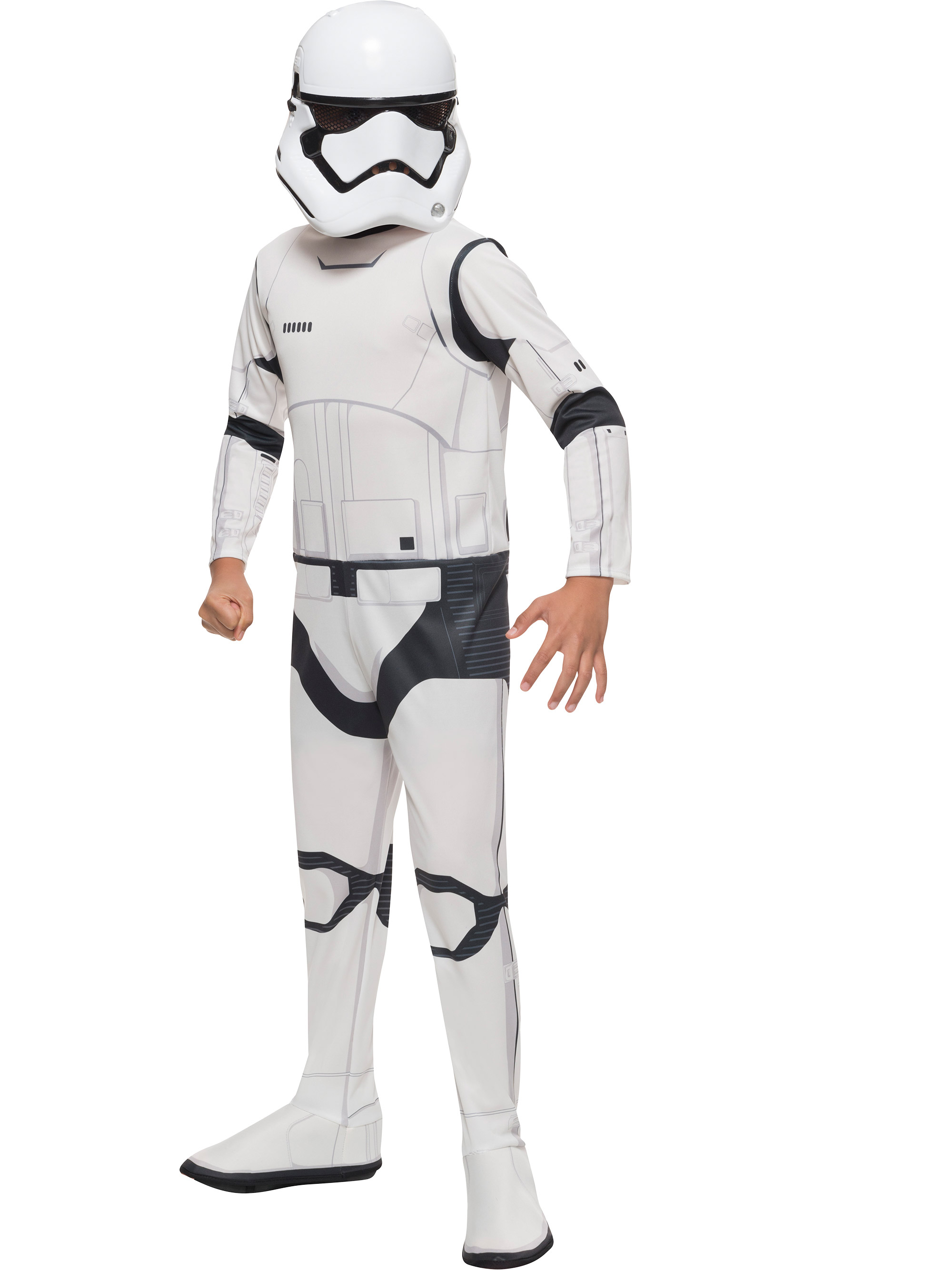 Boy's Star Wars Episode VII Stormtrooper Costume R620088-L