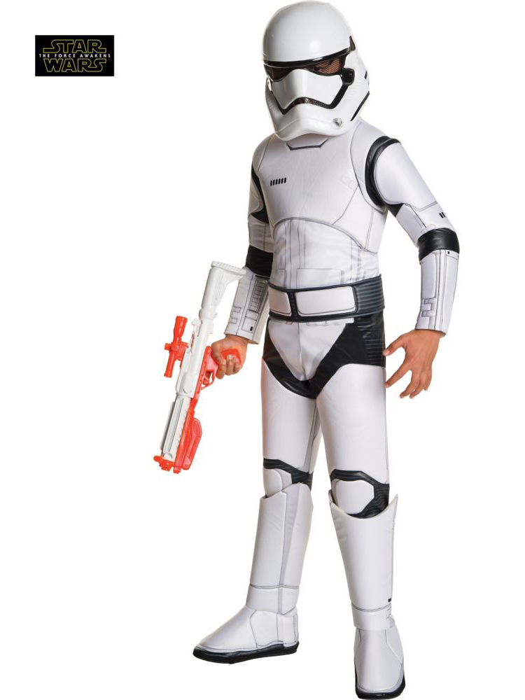 Star Wars Ep Vii Super Deluxe Storm Trooper R620094-L