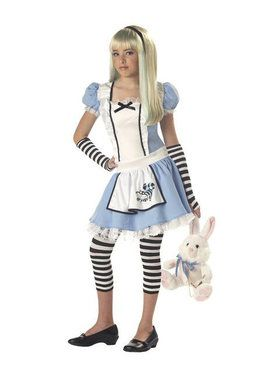 Kids Storybook Alice Costume for Girls