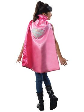 Deluxe Childrens Supergirl Cape