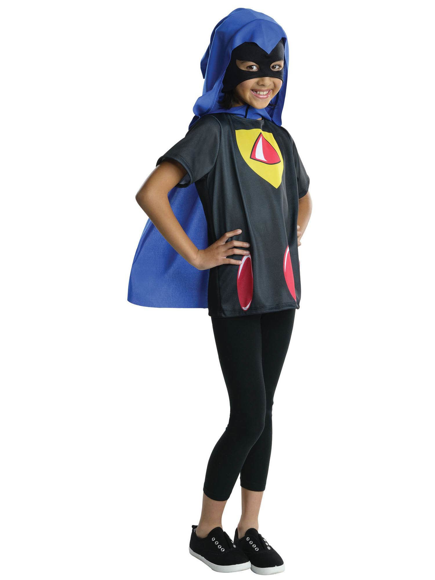 Deluxe Raven Child Costume Teen Titans Go