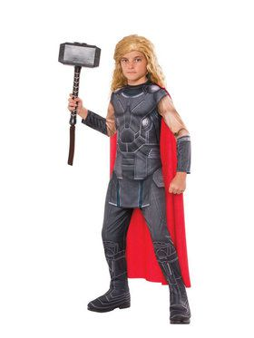 Marvel Collection: Kid's Thor Costume