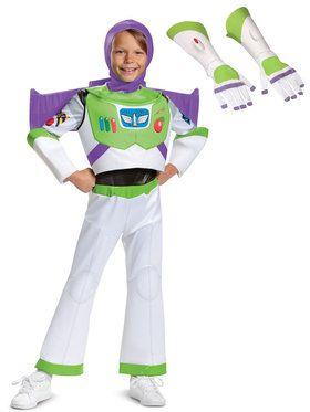 Kids Toy Story Buzz Lightyear Deluxe Costume Kit