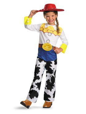 Kids Toy Story Quality Jessie Costume for Girls