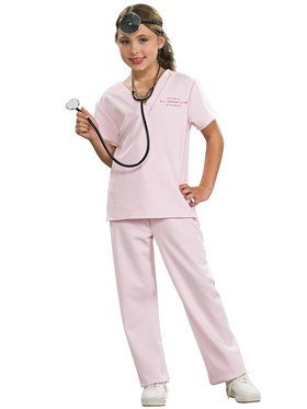 Kids Veterinarian Costume for Girls