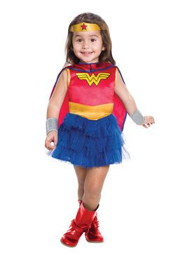 Wonder Woman Tutu Dress Costume for Toddlers