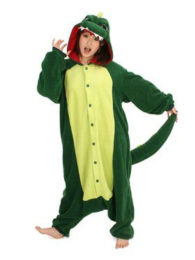 Kigurumi Dinosaur Costume for Teens