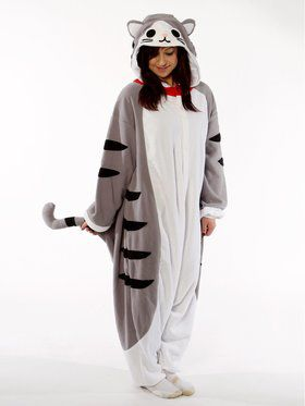 Kigurumi Tabby Cat Costume for Teens