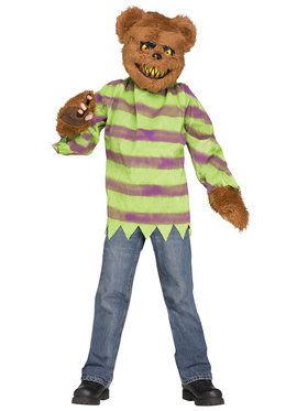 Killer Bear Child Costume