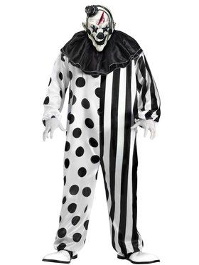 Killer Clown Men's Costume