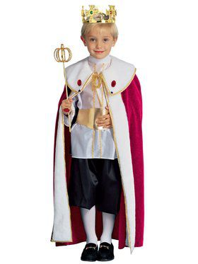 King Child Costume